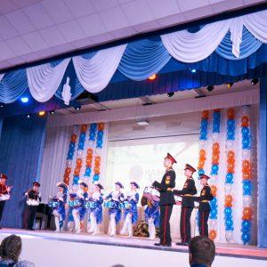 Актовый зал Фроловской средней школы