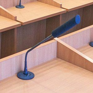 Врезная конференц-система