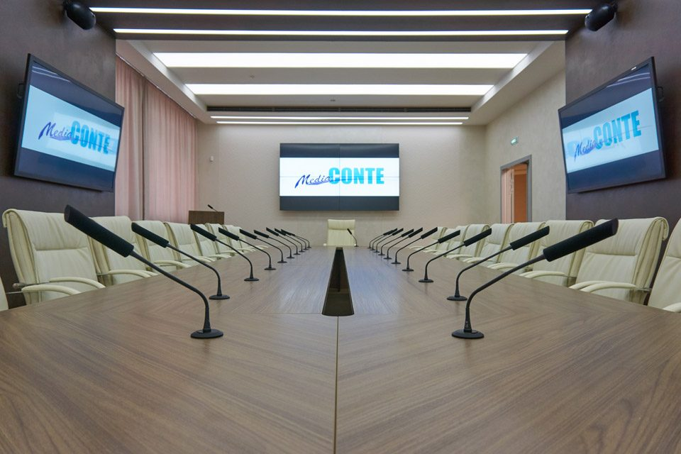 Зал совещаний АО «ОДК-Пермские моторы»