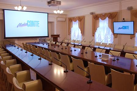 Оборудование залов совещаний и конференц-залов