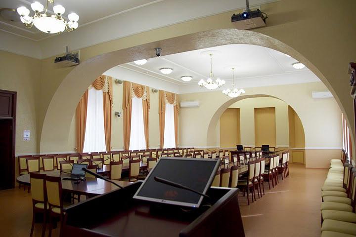Зал заседаний ученого совета ПГМУ